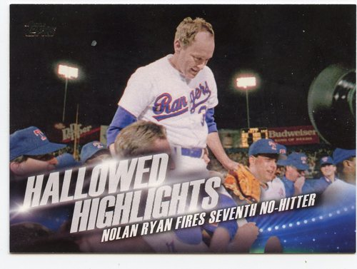 Photo of 2016 Topps Hallowed Highlights #HH9 Nolan Ryan