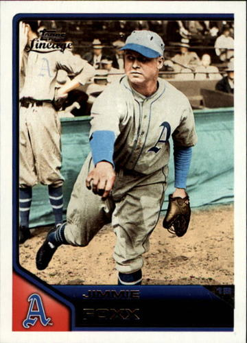 Photo of 2011 Topps Lineage #3 Jimmie Foxx