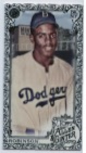 Photo of 2019 Topps Allen and Ginter Mini Black Border #129 Jackie Robinson