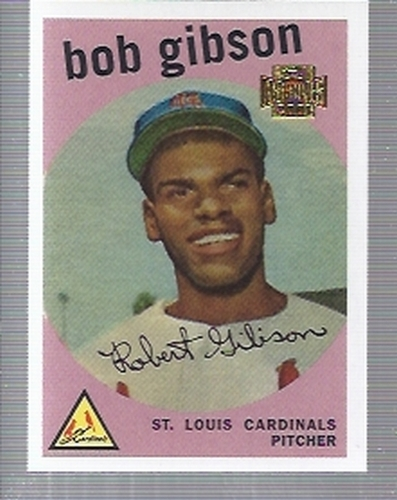 Photo of 2001 Topps Archives #33 Bob Gibson 59