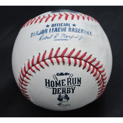 Photo of 2015 Home Run Derby (07/13/2015) - Game-Used Baseball - Manny Machado - Round 1, Out
