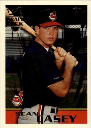 Photo of 1996 Topps #25 Sean Casey RC