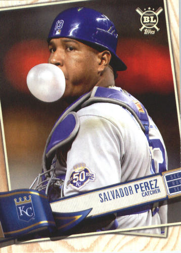 Photo of 2019 Topps Big League #93 Salvador Perez