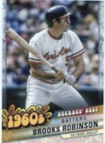 Photo of 2020 Topps Decades' Best Series 2 #DB23 Brooks Robinson