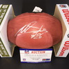 NFL - Eagles Miles Sanders Signed Authentic Football