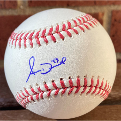 Photo of Adam Duvall Autographed Baseball