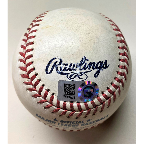 Photo of Game-Used Baseball: Nelson Cruz Minnesota Twins Single (MLB AUTHENTICATED)