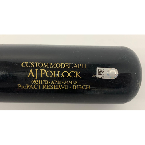 Photo of A.J. Pollock Game Used Bat - 2 RBI Single, SEA @ ARI 8/25/2018