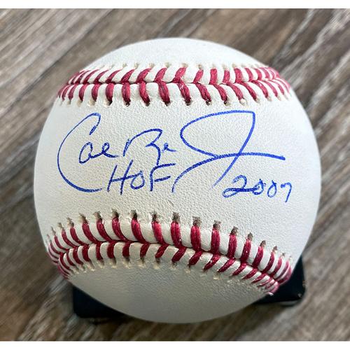 Photo of UMPS CARE AUCTION: Cal Ripken Jr. HOF 2007 Signed Baseball