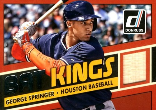 Photo of 2015 Donruss Bat Kings #34 George Springer