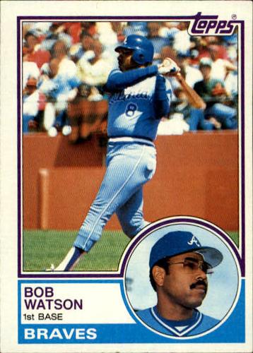 Photo of 1983 Topps #572 Bob Watson