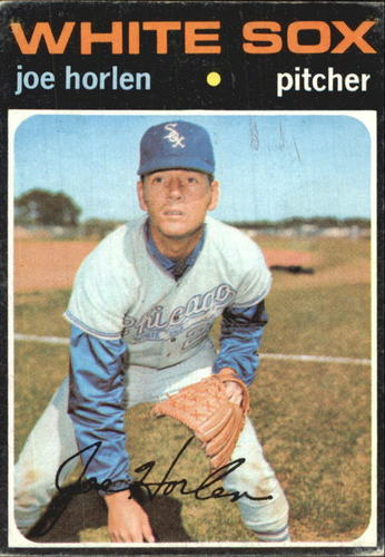 Photo of 1971 Topps #345 Joel Horlen
