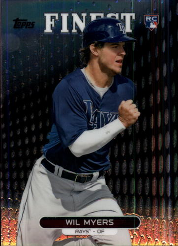 Photo of 2013 Finest #33 Wil Myers Rookie Card