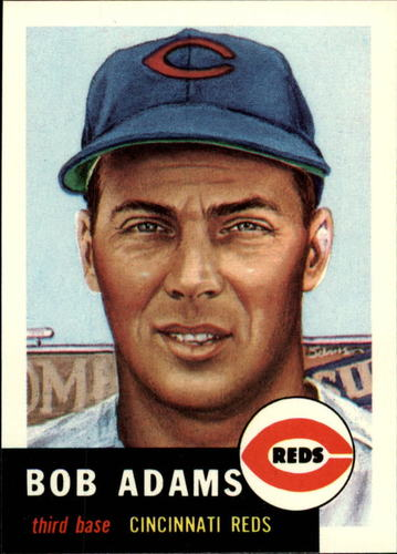 Photo of 1991 Topps Archives 1953 #152 Bob Adams