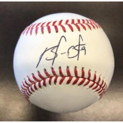 Photo of Giants Community Fund: Brandon Belt Signed Baseball