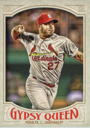 Photo of 2016 Topps Gypsy Queen #186 Jhonny Peralta