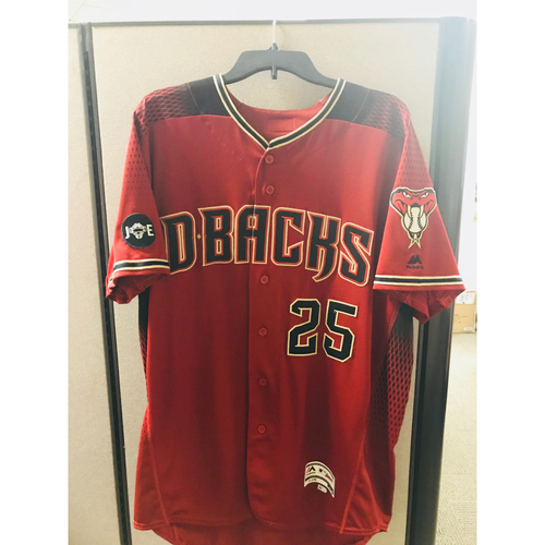 Photo of 2016 Team-Issued Archie Bradley Jersey