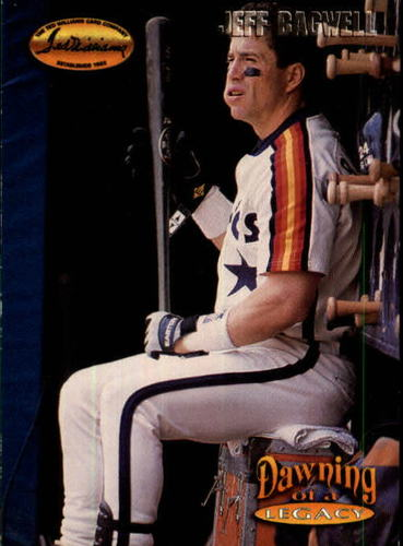 Photo of 1993 Ted Williams #158 Jeff Bagwell/Year 1