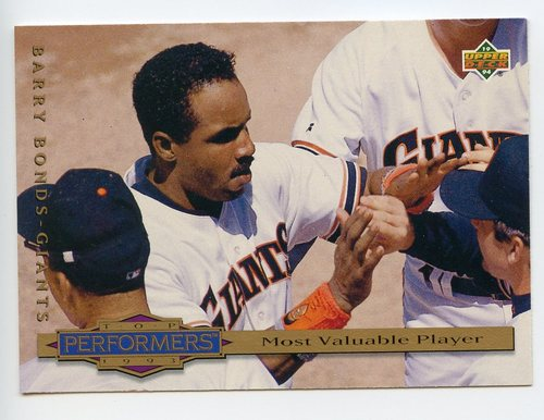 Photo of 1994 Collector's Choice #311 Barry Bonds TP