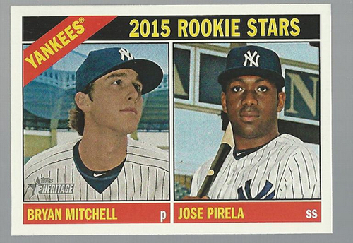 Photo of 2015 Topps Heritage #234 Jose Pirela RC/Bryan Mitchell RC