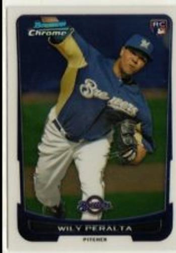 Photo of 2012 Bowman Chrome Draft #48 Wily Peralta RC