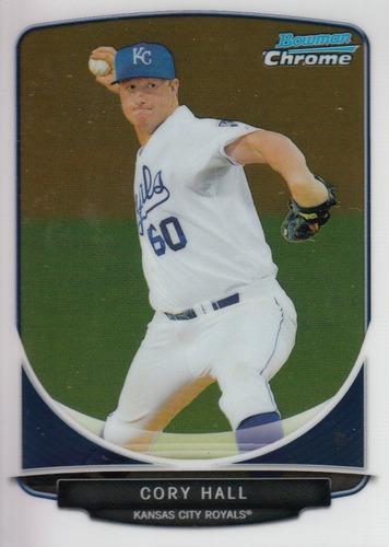 Photo of 2013 Bowman Chrome Prospects #BCP26 Cory Hall