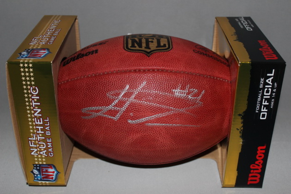 NFL - REDSKINS HAHA CLINTON-DIX SIGNED AUTHENTIC FOOTBALL