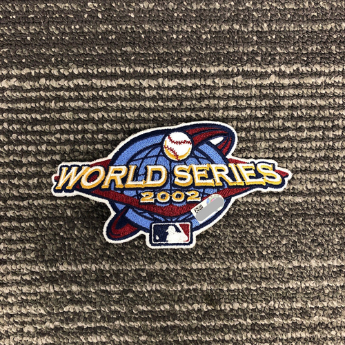 Photo of Team Issued Patch - 2002 World Series Logo Patch
