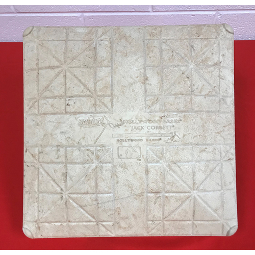 Photo of Game-Used 1st Base from July 4, 2018 vs. Boston Red Sox