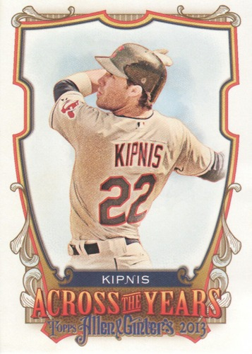 Photo of 2013 Topps Allen and Ginter Across the Years #JK Jason Kipnis