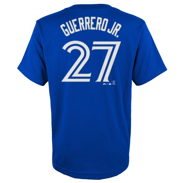 Toronto Blue Jays Youth Vladimir Guerrero Jr. Player T-Shirt by Majestic