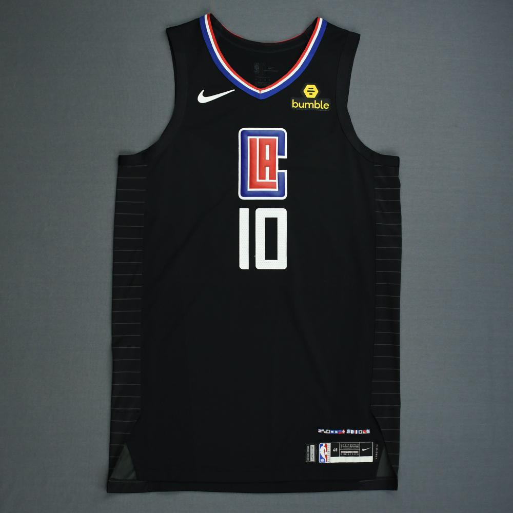 Jerome Robinson - Los Angeles Clippers - 2019 NBA Playoffs - Game-Issued Black Statement Edition Jersey