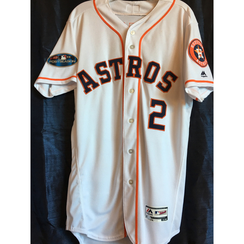 Photo of Alex Bregman Game-Used 2018 ALCS Game 5 Jersey