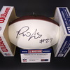 NFL - BUCCANEERS RB RONALD JONES SIGNED PANEL BALL