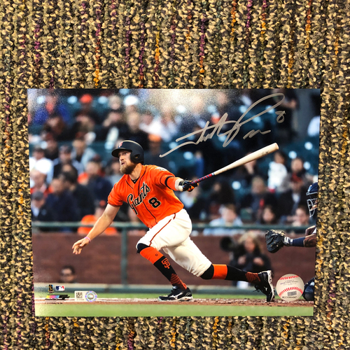 Photo of Autographed 8x10 Photo - Signed by 4x All Star #8 Hunter Pence