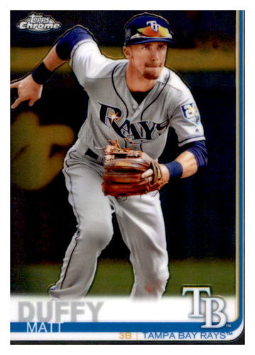 Photo of 2019 Topps Chrome #104 Matt Duffy