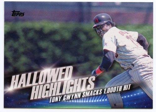 Photo of 2016 Topps Hallowed Highlights #HH12 Tony Gwynn