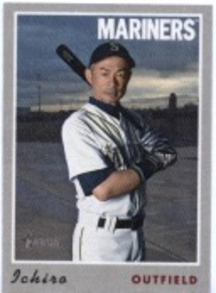 2019 Topps Heritage '70 Topps Stickers #23 Ichiro