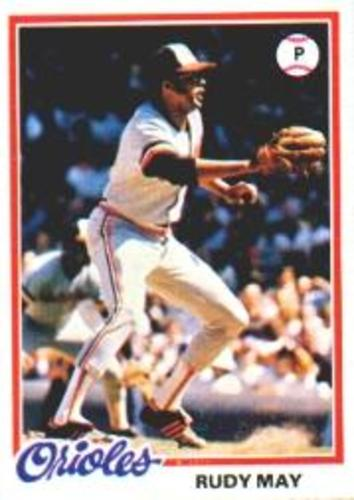 Photo of 1978 Topps #262 Rudy May