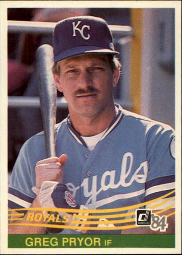 Photo of 1984 Donruss #374 Greg Pryor