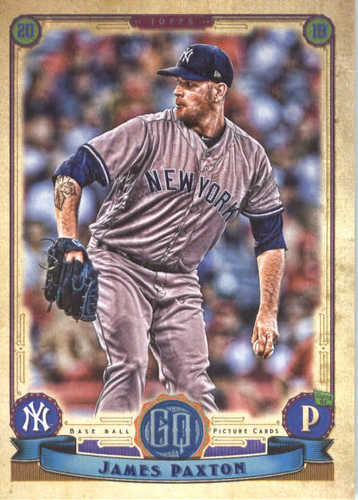 Photo of 2019 Topps Gypsy Queen #203 James Paxton