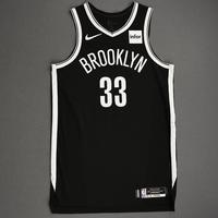 Nicolas Claxton - Brooklyn Nets - NBA China Games - Game-Worn Icon Edition Jersey - 2019-20 NBA Season