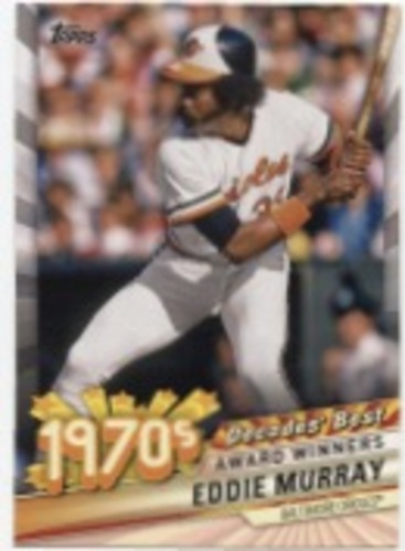 Photo of 2020 Topps Decades' Best Series 2 #DB31 Eddie Murray
