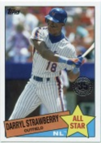 Photo of 2020 Topps '85 Topps All Stars #85AS30 Darryl Strawberry