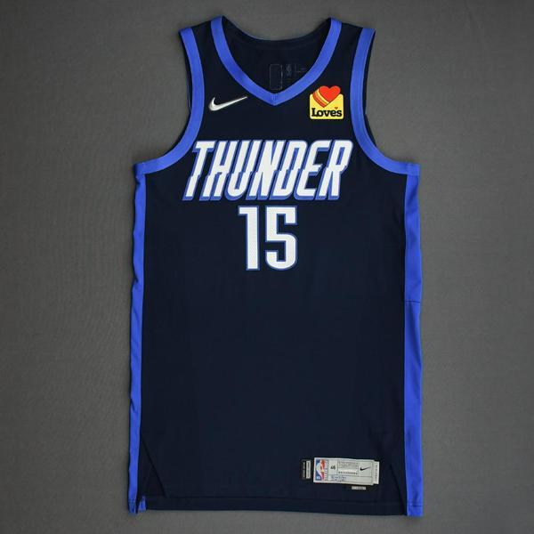 Image of Josh Hall - Oklahoma City Thunder - Game-Worn Earned Edition Jersey - 2020-21 NBA Season