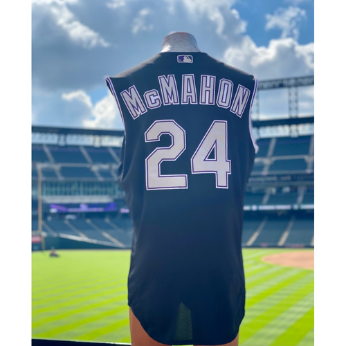 Photo of 2021 Game-Used Ryan McMahon Jersey - 3 Games, 7 Hits, 4 Home Runs, 6 RBI's