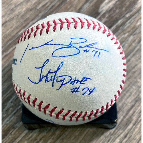 Photo of UMPS CARE AUCTION: Crew Signed Baseball from 2020 AL Wild Card Series
