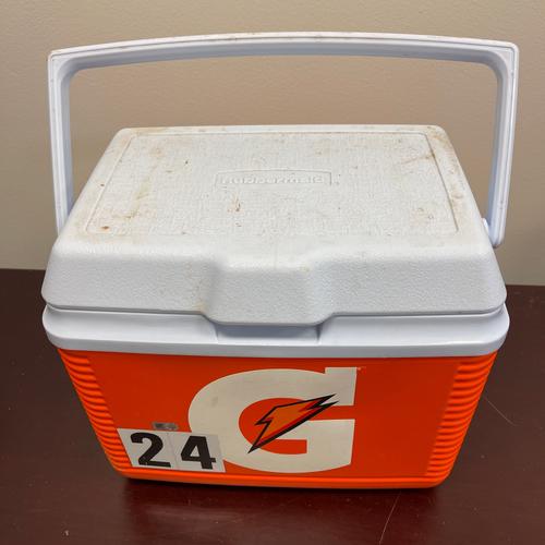 Photo of Minnesota Twins:  Team-Issued 2020 Personal Gatorade Cooler #24 - Josh Donaldson