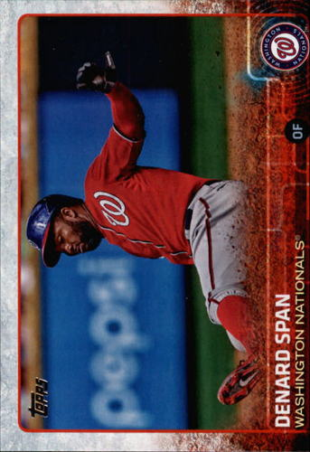 Photo of 2015 Topps #440 Denard Span