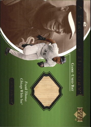Photo of 2001 Upper Deck Ovation A Piece of History #FT Frank Thomas